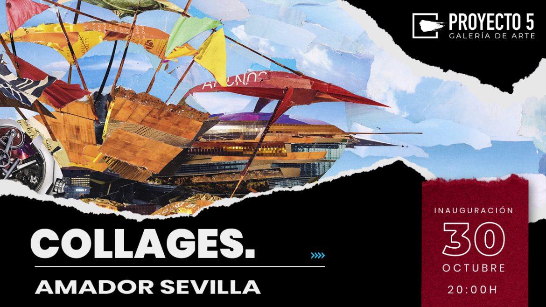 Inauguramos la exposición de Amador Sevilla