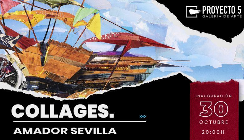 imagen de un cuadro de Amador Sevilla que forma parte del cartel